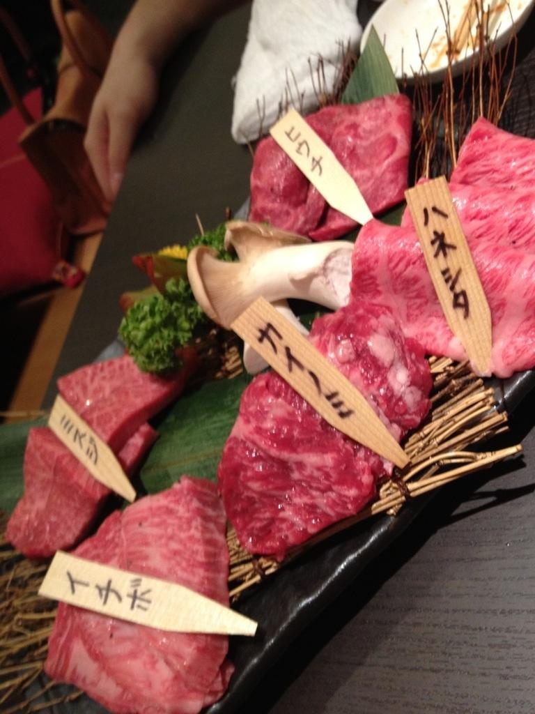 花火大会と焼き肉